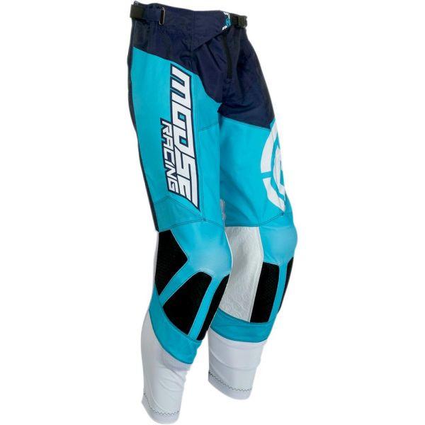 Pantaloni MX-Enduro Moose Racing Pantaloni M1 Blue/White S9