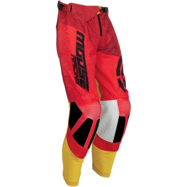 Pantaloni MX-Enduro Moose Racing Pantaloni M1 Red/Yellow S9
