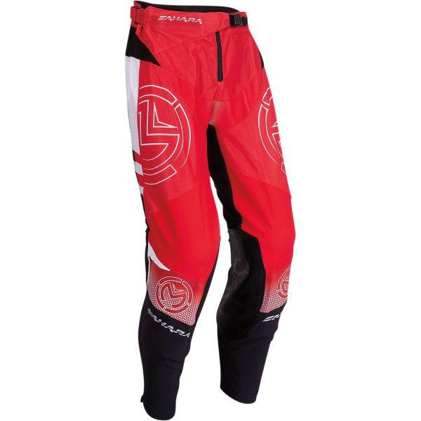 Pantaloni MX-Enduro Moose Racing Pantaloni Moto MX Sahara Red/Black 2022