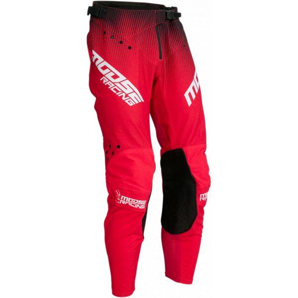 Pantaloni MX-Enduro Moose Racing Pantaloni MX Agroid Rosu/Negru 2021