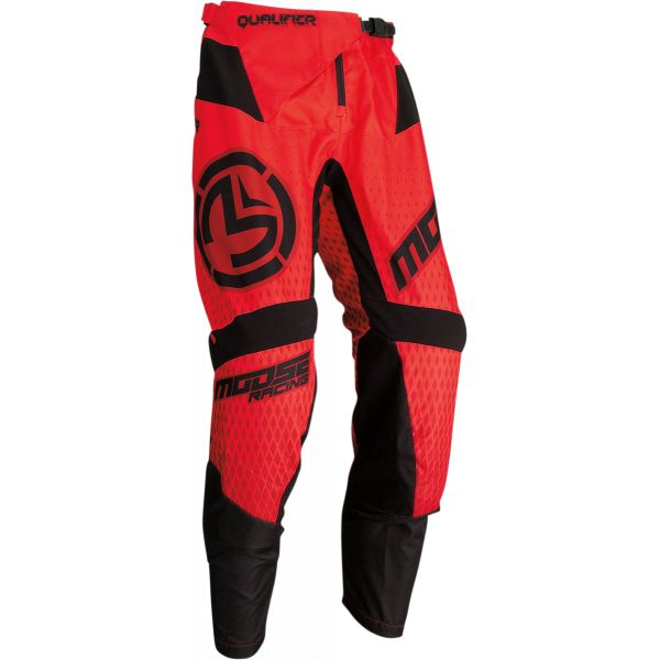 Pantaloni MX-Enduro Moose Racing Pantaloni MX Qualifier Negru/Rosu 2021
