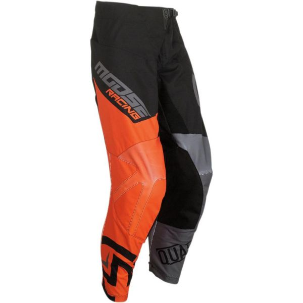 Pantaloni MX-Enduro Copii Moose Racing Pantaloni Qualifier Black/Orange S9 Copii