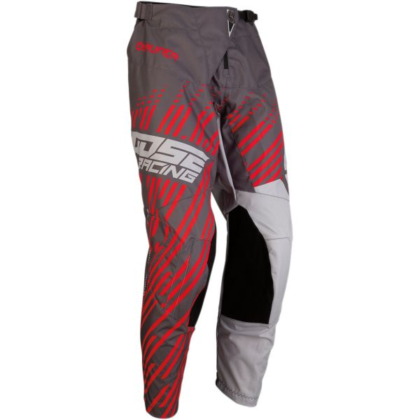 Pantaloni MX-Enduro Moose Racing Pantaloni Qualifier S20 Charcoal/Gray/Red
