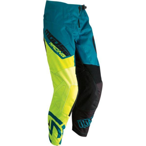 Pantaloni MX-Enduro Copii Moose Racing Pantaloni Qualifier Teal/Yellow S9 Copii
