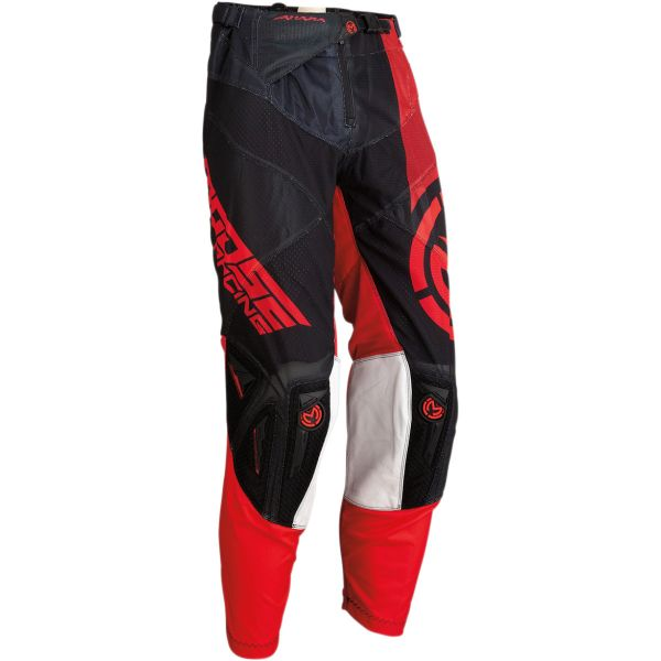 Pantaloni MX-Enduro Moose Racing Pantaloni Sahara S20 Black/Red