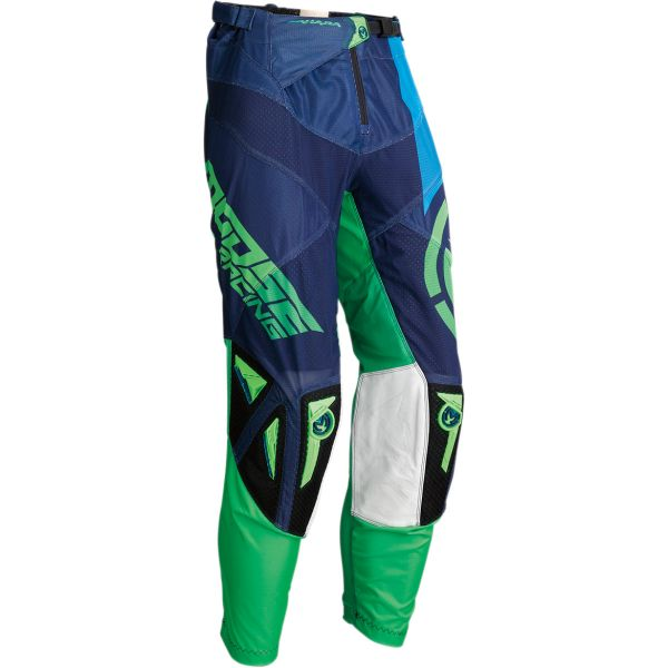 Pantaloni MX-Enduro Moose Racing Pantaloni Sahara S20 Navy/Green
