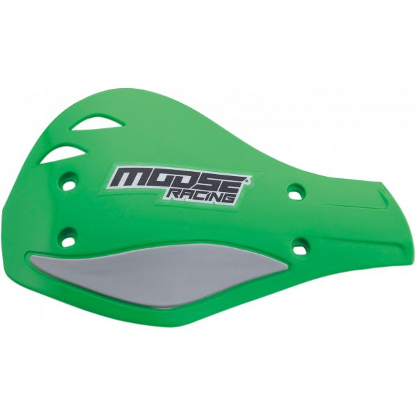 Handguard Moose Racing Plastice Schimb Handguard Contour Deflector Green/silver-M51-129