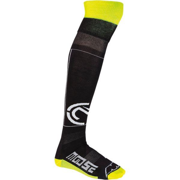 Sosete MX-Enduro Moose Racing Sosete M1 Knee Brace Negru/Galben