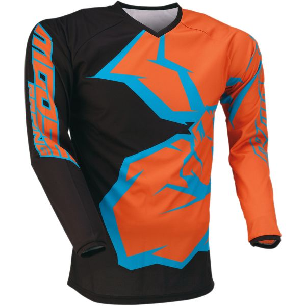 Tricouri MX-Enduro Copii Moose Racing Tricou Copii Qualifier S20 Orange/Cyan