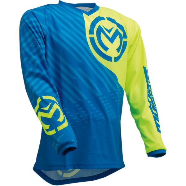 Tricouri MX-Enduro Moose Racing Tricou M1 S20 Blue/Yellow