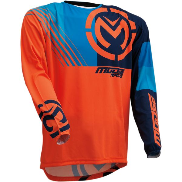 Tricouri MX-Enduro Moose Racing Tricou M1 S20 Orange/Blue