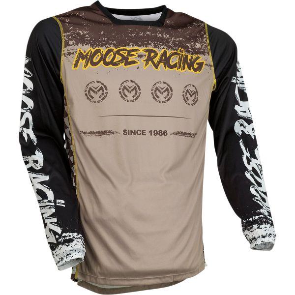 Tricouri MX-Enduro Moose Racing Tricou Moto MX M1 Yellow/Black 2022