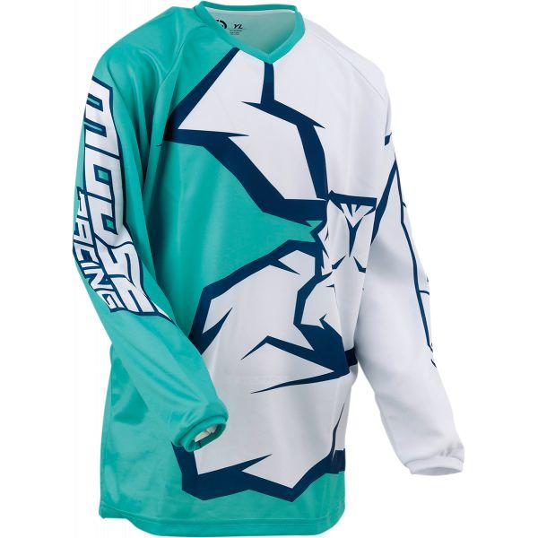 Tricouri MX-Enduro Copii Moose Racing Tricou MX Copii Qualifier Mint/Alb/Bleumarin 2021