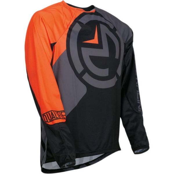 Tricouri MX-Enduro Copii Moose Racing Tricou Qualifier Black/Orange S9 Copii