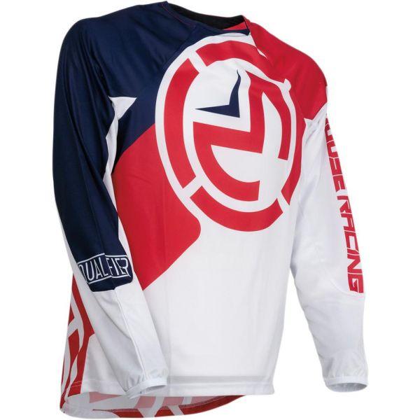 Tricouri MX-Enduro Copii Moose Racing Tricou Qualifier Red/White/Blue S9 Copii