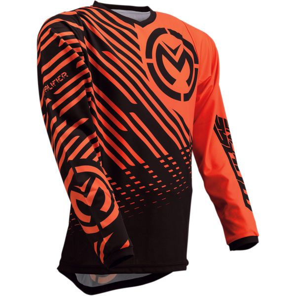 Tricouri MX-Enduro Moose Racing Tricou Qualifier S20 Black/Orange