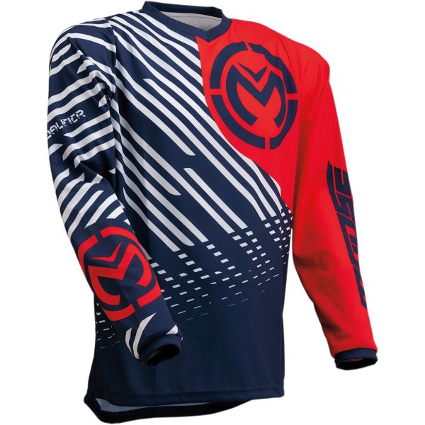 Tricouri MX-Enduro Moose Racing Tricou Qualifier S20 Navy/Red
