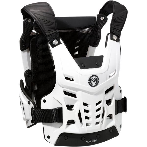 Protectii Piept-Spate Moose Racing Veste Protectie Piept/Spate CE SYN White/Black