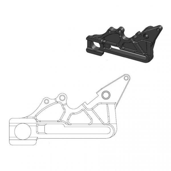 Kit Upgrade Frana Motomaster Adaptor Relocare Etrier Frana Oversize - 211085