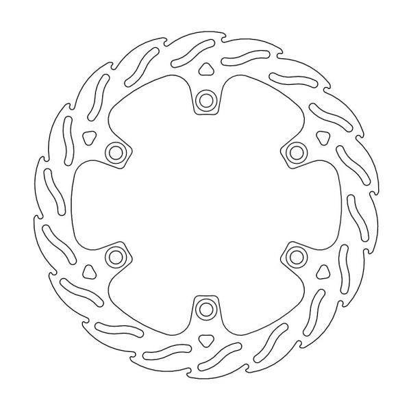 Discuri Frana MX Motomaster Disc Frana Fix Flame  110727