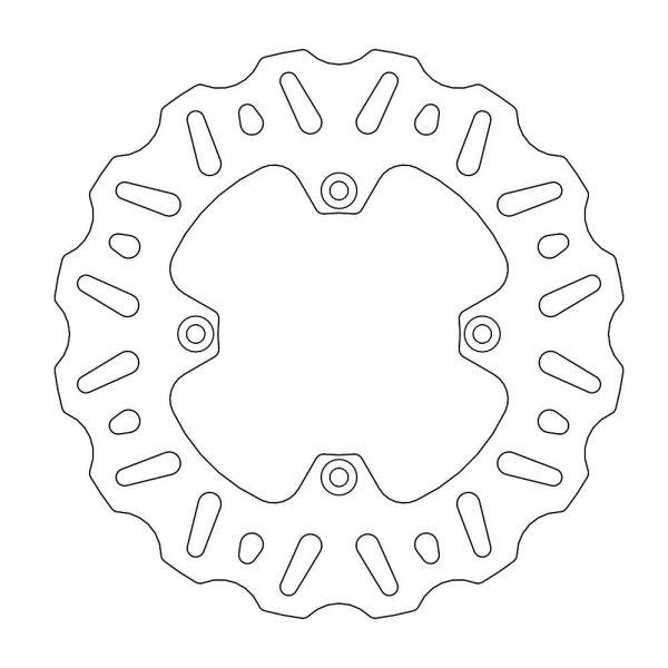 Discuri Frana MX Motomaster Disc Frana Fix Nitro Contour Natural  110450