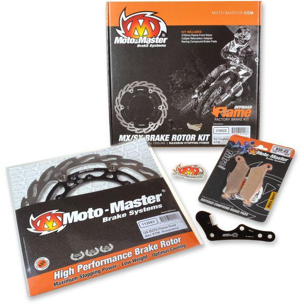 Kit Upgrade Frana Motomaster Kit Frana Disc Flotant Flame 270 Mm, Placute Frana, Adaptor Relocare - 310026
