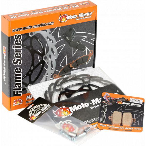 Kit Upgrade Frana Motomaster Kit Frana Flame Disc Fix 220 Mm, Placute Frana, Adaptor Relocare - 310032