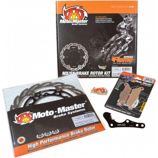 Kit Upgrade Frana Motomaster Kit Frana Rotor Flotant Flame 270 Mm, Placute Frana, Adaptor Relocare - 310040