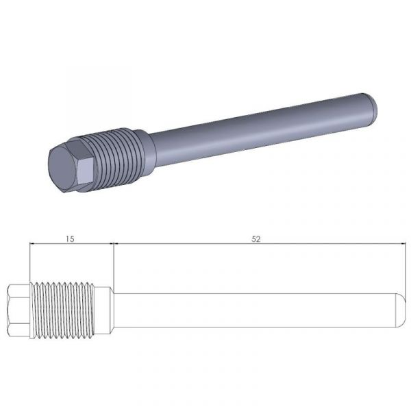 Kit Reparatie Frana Motomaster Pin (Cui de schimb ) Placute Frana  - 213020