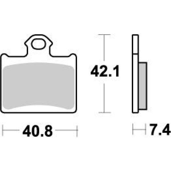 Placute de frana Motomaster Placute Frana Fata KTM Freeride 250-350/SX85/TC85