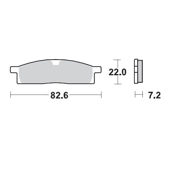 Placute de frana Motomaster Placute Frana Offroad Sinter Pro Racing Gp - 091212