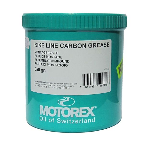 Lubrifianti Bike Motorex CARBONGREASE - 850GR