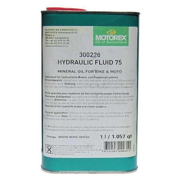 Motorex HYDRAULIC FLUID 75 - 1L