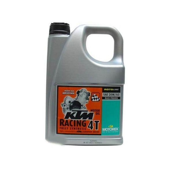 Ulei motor 4 timpi Motorex KTM Racing 20W60 4L
