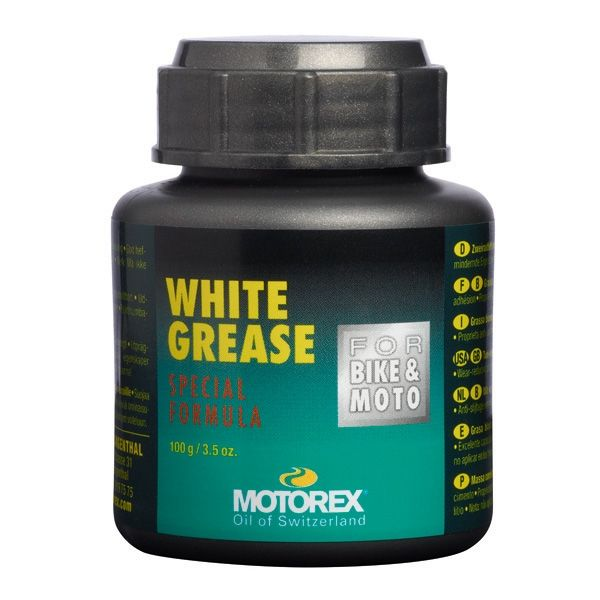Lubrifianti Bike Motorex WHITEGREASE 628 TIN - 100GR