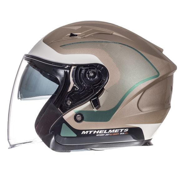 MT Helmets Casca Avenue SV Crossroad White/Gray Gloss