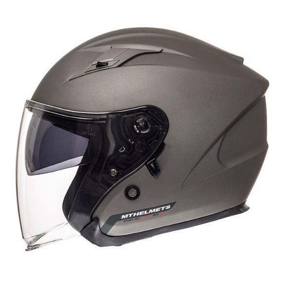 MT Helmets Casca Avenue SV Ttianium Mat