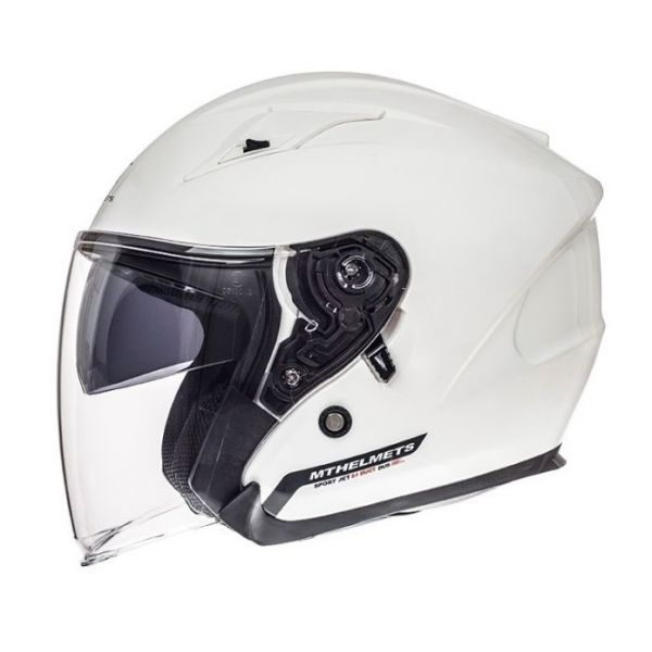 MT Helmets Casca Avenue SV White Gloss