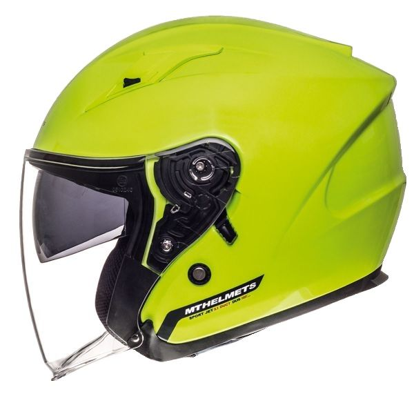 MT Helmets Casca Avenue SV Yellow Gloss