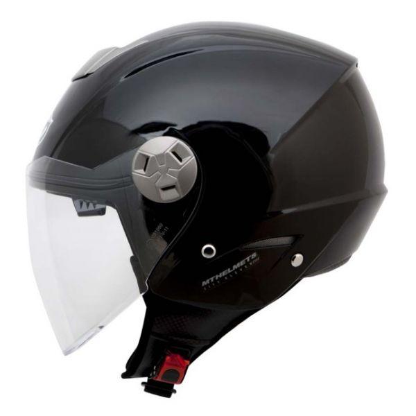 MT Helmets Casca City Eleven SV Black Gloss