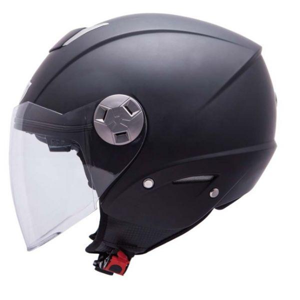 MT Helmets Casca City Eleven SV Black Mat