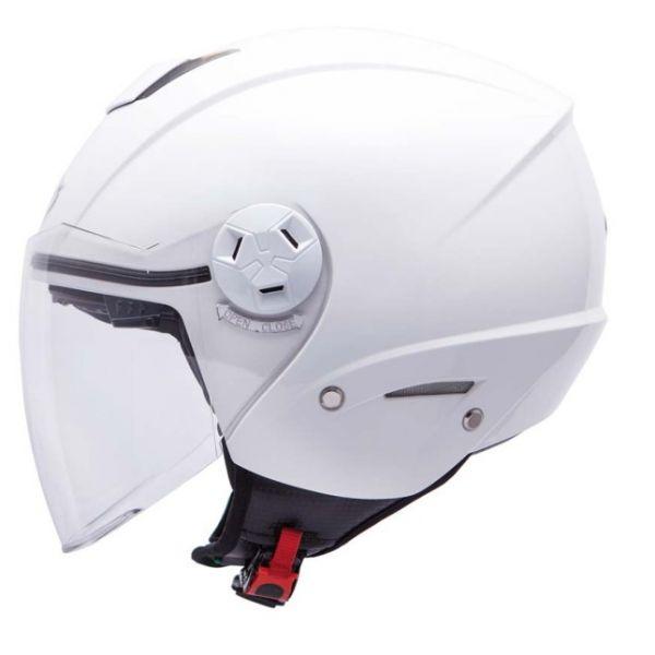 Casti Moto Jet (Open Face) MT Helmets Casca City Eleven SV White Gloss
