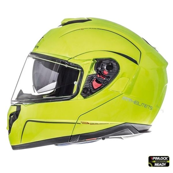 MT Helmets Casca Flip-Up Atom SV Yellow Gloss