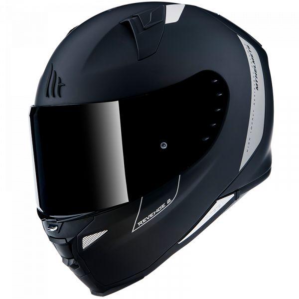 Casti Moto Integrale MT Helmets Casca Moto Full-Face Revenge 2 Solid A1 Matt Black 2021