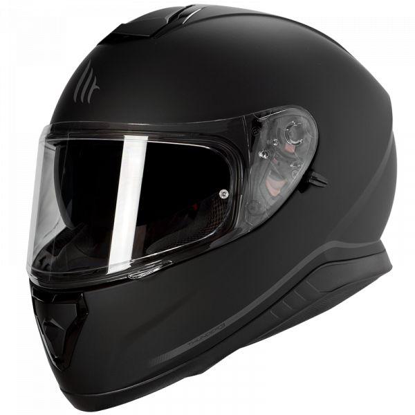 Casti Moto Integrale MT Helmets Casca Moto Full-Face Thunder 3 SV Solid A1 Matt Black 2021