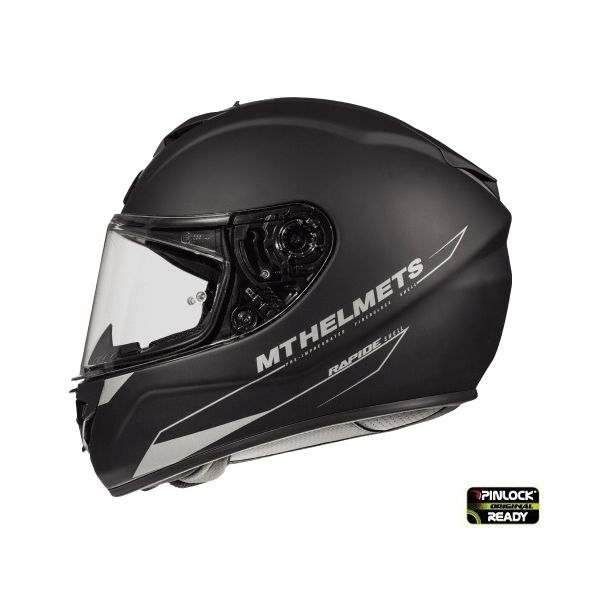 MT Helmets Casca Rapide A1 Black Matt