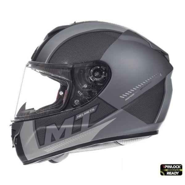 Casti Integrale MT Helmets LICHIDARE STOC Casca Rapide Duel D7 Overtake B6 Black/Gray Matt
