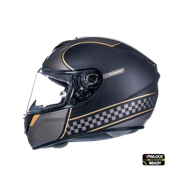 Casti Integrale MT Helmets Casca Rapide Revival A1 Black/Gray Matt