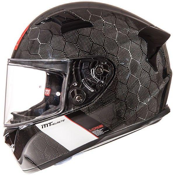 MT Helmets KRE Snake Carbon Black Helmet