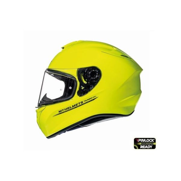 Casti Moto Integrale MT Helmets Targo Solid Yellow Glossy Helmet